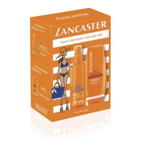 LANCASTER | UN BEAUTY OIL FREE MILKY SPRAY SPF15 150ML TAN MAXIMIZER REPARING AFTER SUN 125ML