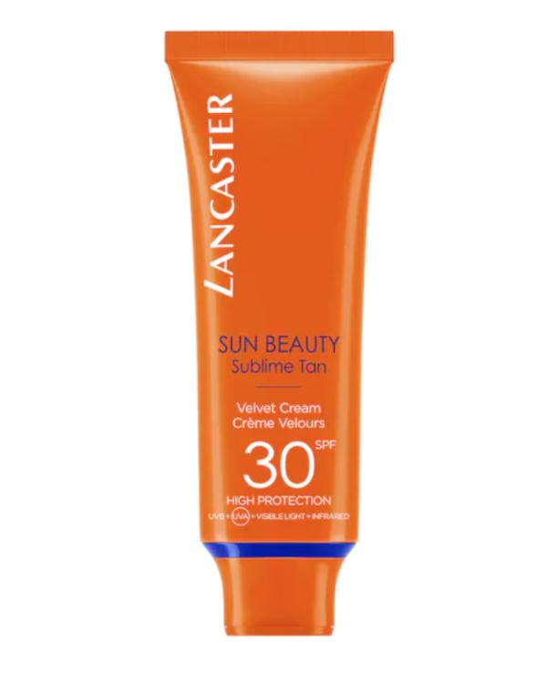 LANCASTER | Sun Beauty Viso Velvet Touch Cream Radiant Tan SPF30 50 ml