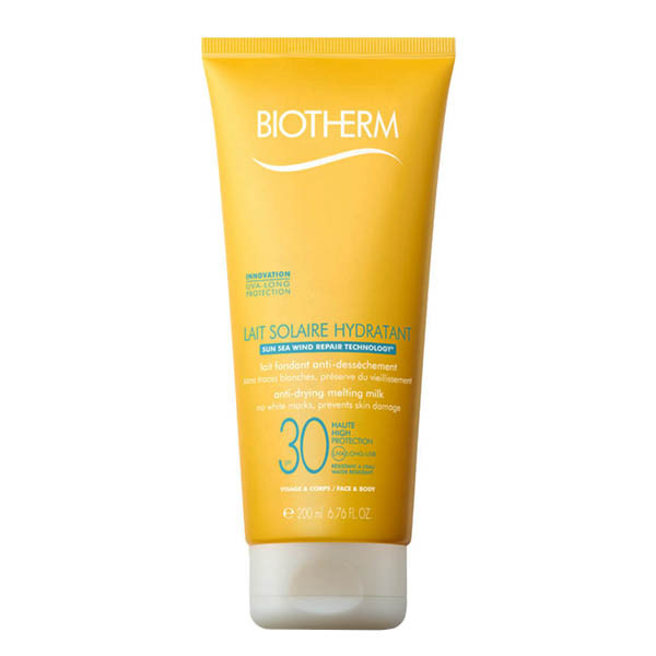 BIOTHERM   Lait Solaire Hydratant SPF 30 Face & Body SPF30+ 200 ml